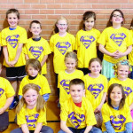 West School's May Buzz winners are, in the front row, Isabella Newman, Kash Kober and Austyn Butler. Second Row: Parker Temple, Nolan Myers, Mazee Delich, Josie Jares, Anna Shick and Mason Pipkey-Jones. Back row: Avery Shanks, Harrison Creeden, Hunter Lurz, Elise Welch, Talia Aceves, Athena Killian and Brislyn Maharrey.