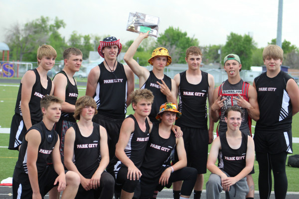 Photos by Kim Flemmer.  The Park City Panthers took second place in the District Track Meet last Friday.