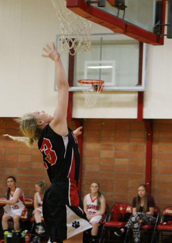 Blakely Verke had 12 points during their game against Fromberg on Saturday.