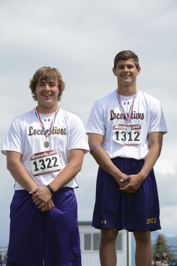 Craig Sowers placed fourth in the Discus and Ely Kraft placed second at the Eastern A Divisional meet in Belgrade last weekend.
