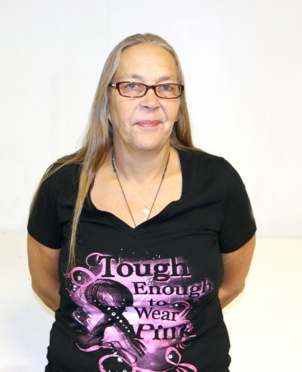 Michele Ames of Laurel  was diagnosed with breast cancer in 2009 after a routine mammogram.