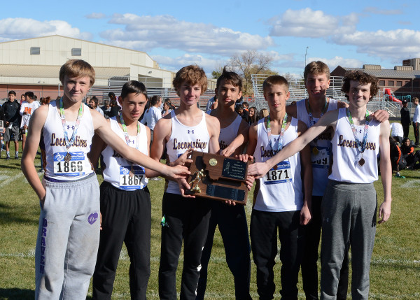 Photo courtesy Big Horn County News. The Laurel boys cross country varsity team won the Eastern A Classic Divisional Meet on Saturday in Hardin. Levi Taylor and Grace Timm were the individual winners. From the left are Draven Earles, Ethan Gradwohl, Ethan Doty, Tre Whitford, Haden Wilson, Taylor and Isaac Manders.