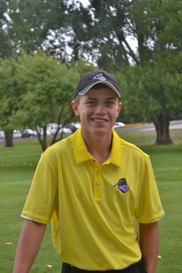 Courtesy photo. Laurel Junior, Paul O'Neil, shot 69 at Fort Custer Golf Club on Friday to win the Hardin Invitational by two shots. In four tournaments this year he has first, second, third and seventh place finishes.