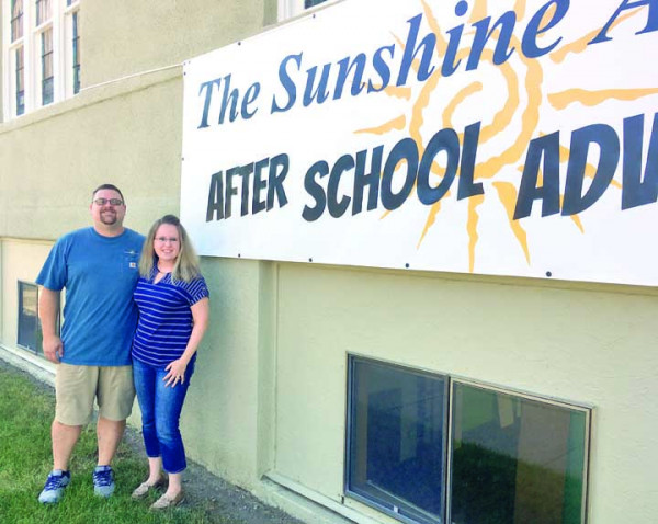 Greg and Sara Schreiner who will have operated the Sunshine Academy for 15 years on Sept. 1, are expanding after purchasing the former Grace Bible Church. Their After School Adventures program will begin at the new location on Aug. 22, the first day of school.