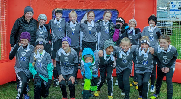 Pictured are the U12 Laurel Storm Soccer girls who took 3rd place at the Snickers Cup in Sheridan, Wyoming this weekend. In the back row from the left are Coach Alicia Davis, Jena Jares, Amaya Lorash, Kaitlyn Dantic, Reegan​​​​​​​ Nagy, Bianca Herr, Molly Paris, Paige Davidson and Hadley Blakesley. In the front row are Sophia Wagner, Kenzington​​​​​​​ Golden, Brynn Bennington, Chloe Evertz, Ambyr Elton, Kayla Jung, Maggie Cooney and Elise MacDonald.