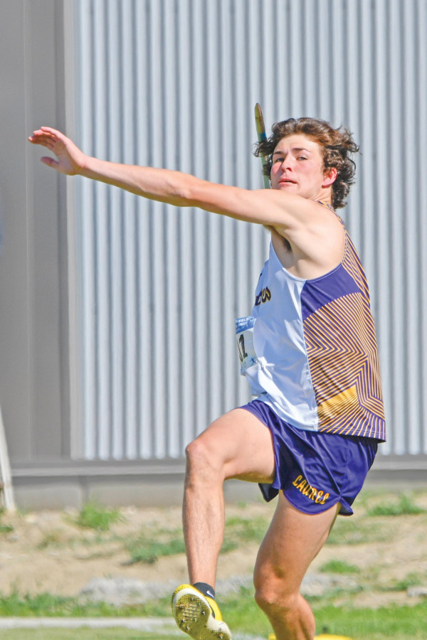 Jace McNeil took 5th in the javelin at State last week with a throw of 157–08.