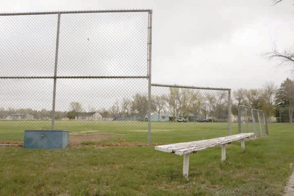 Photo by Jackson McMurrey Nutting Park, one of several fields in Laurel used to hold Little League activities. For the 2020 season, players and spectators will be required to exercise social distancing throughout its duration.