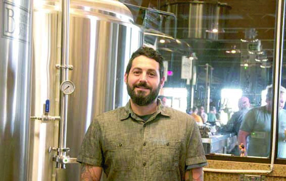 Courtesy photo.  Alex Patten recently completed the certificate program in Craft Brewing & Fermentation through the Extended Campus at MSU Billings and now works for Canyon Creek Brewing, where he completed an internship.