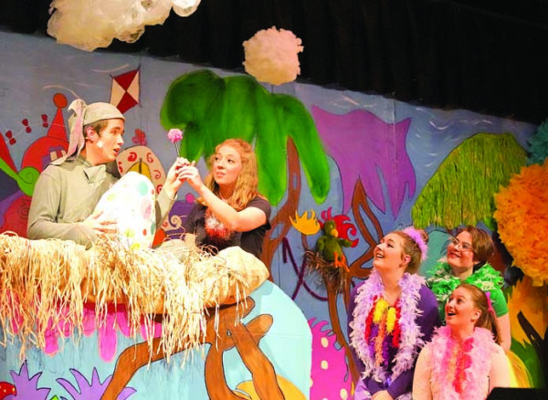 "The Laurel High School musical this year was ""Seussical,"" based on the Broadway show featuring some of Dr. Seuss' best loved stories and characters."