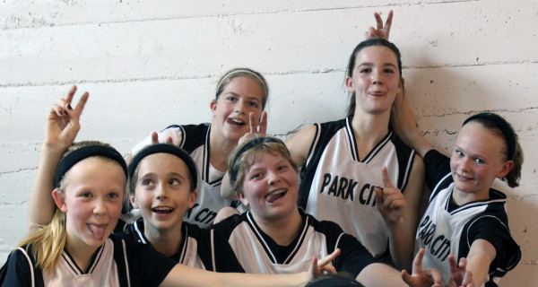 Lady Panthers back in the day. In the back row from the left are Shelby Kluth, Teyha Ray and Shelby Branstetter. In the front row from the left are Bethany VanDoren, Mackinzie Verke and Shelby McMillen.