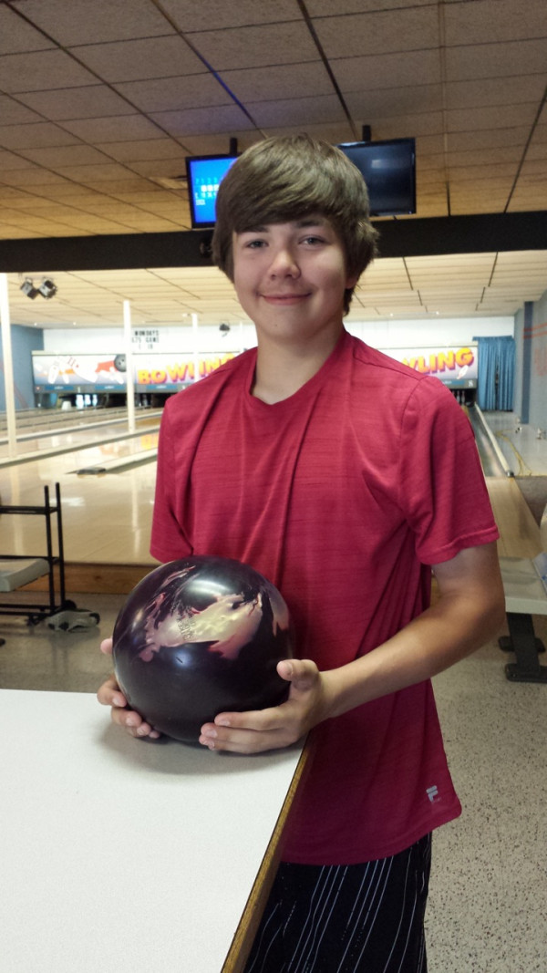 Photo courtesy of Michele Oak.  Skylar Oak is heading to the Junior Gold National Bowling Championship in Cleveland, Ohio on July 15. There is a garage sale fundraiser for Oak on June 23-24 at 825 Cottonwood Avenue in Laurel.