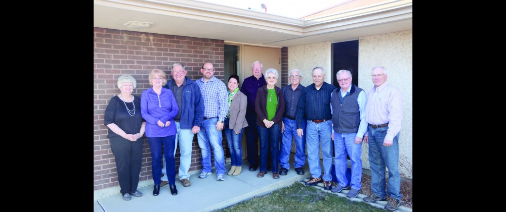 The committee members tasked with finding a new pastor for First Congregational Church in Laurel are from the left Priscilla Fairlee, Irene Reiter, Dennis Reiter, Justin Hohn, Susan Hohn, Pastor Jim Bell, Donna Walter, Marvin Carter, Ron Walter, Jim Kraft and Kelly Brester.