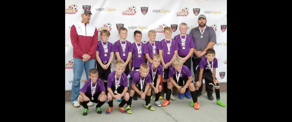 Photo courtesy of Jamie and Aaron Christiansen                        From left to right in the top row are Coach Tom Maack, Diya Karamzadeh, Jacob Christiansen,  Cy Hansen, Brycen Hersel,  Luke Maack, Rook Eastlick and Assistant Coach Aaron Christiansen. In the bottom are Jayden Remmick, Ayden Orcutt, Mason Herada, Zander Wittman, Micheal Hughes and Matias Jeminez.